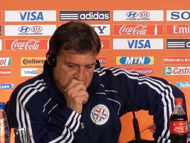 Paraguai quer entrar com o pé direito