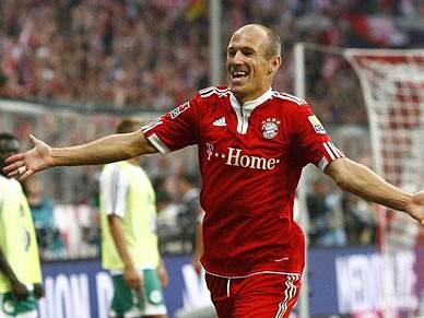 Robben eleito o melhor da Bundesliga
