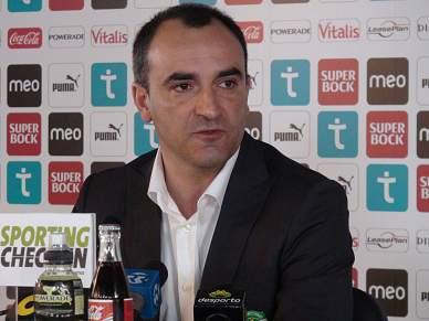 """""""Estou aqui para ajudar o Sporting a alcançar vitórias"""""""