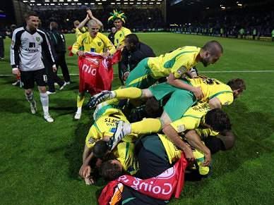 Norwich City sobe à Premier League