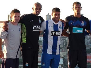 Veja os novos equipamentos do FC Porto