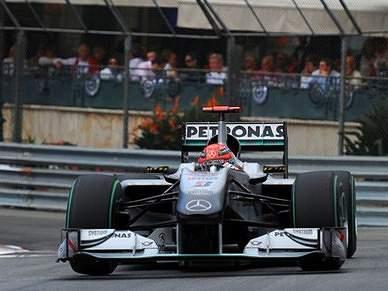 Penalização de 20 segundos para Schumacher