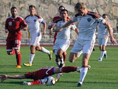 Rússia vence Andorra 2-0