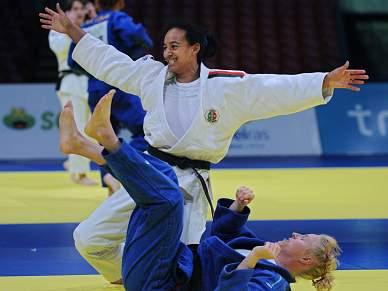 Luso-cubana Yahima Ramirez eliminada na primeira ronda