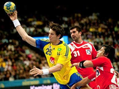 Suécia entra a vencer no Mundial 2011