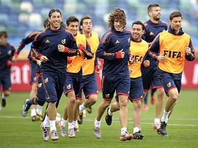 Espanha estreia-se frente à Suíça