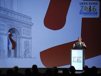 França ganha organização do Euro 2016
