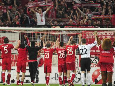 Bayern supera Dortmund nas apostas para 2012