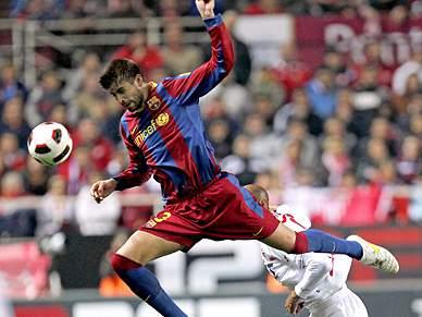 Barcelona escorrega em Sevilha