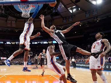 Knicks vencem Spurs