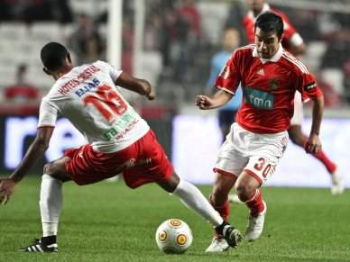 Saviola convocado para jogo com Sporting de Braga