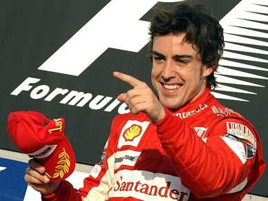 Alonso foi o mais rápido nos treinos livres