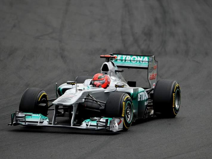 Alemães gostariam que Schumacher abandonasse a Fórmula 1