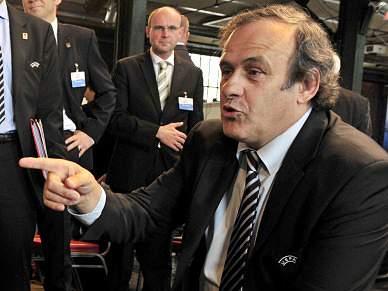 Platini propõe criação de polícia para lutar contra a corrupção