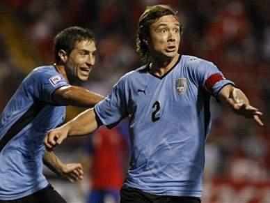 Uruguai mais próximo do Mundial