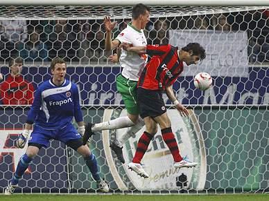 Frankfurt e Werder Bremen empatam
