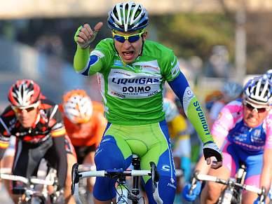 Peter Sagan bisa na quinta etapa, Tiago Machado sobre um lugar