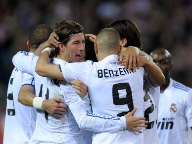 Real triunfa no derby madrileno