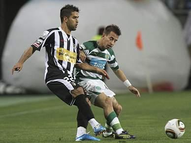 Sporting em vantagem no Algarve