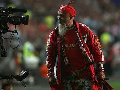 Diabo de Gaia promete fair-play no regresso ao Estádio da Luz