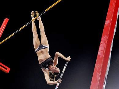 IAAF homologou o recorde mundial de salto com vara