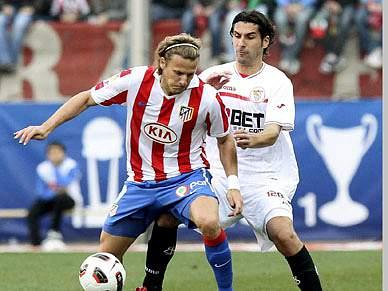 Sevilha e Atlético de Madrid empatam