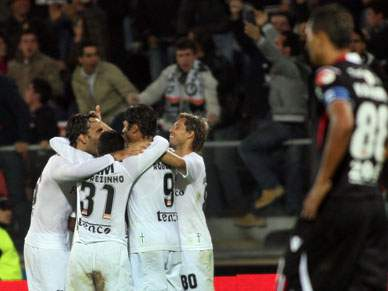 Guimarães dá a provar ao Braga o sabor da derrota