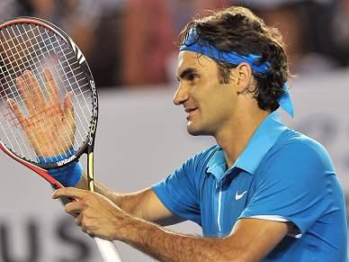 Federer segue para as meias-finais