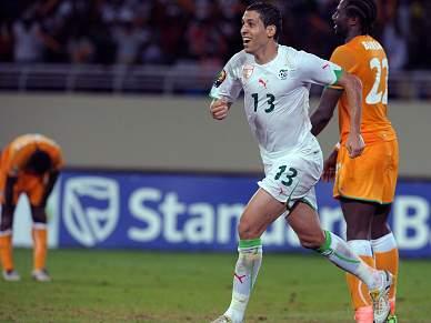 Argélia elimina Costa do Marfim e segue para as meias-finais