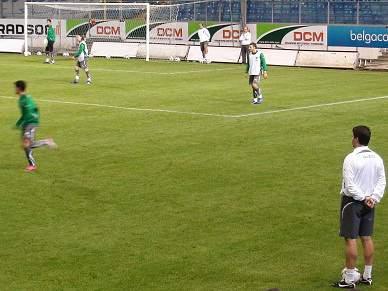 Equipa prepara jogo com o Portimonense à porta fechada