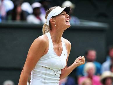 Sete anos depois Sharapova volta à final