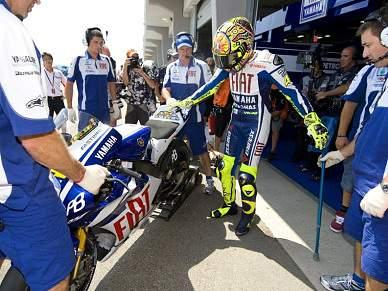 Pedrosa mais rápido no regresso de Rossi