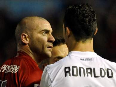 Pandiani em resposta a Mourinho sobre Ronaldo