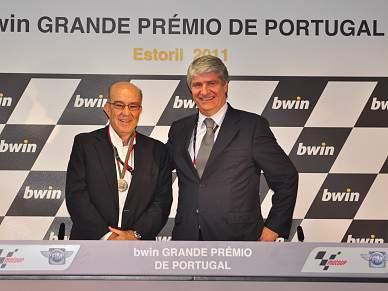 Carmelo Ezpeleta homenageado no Estoril
