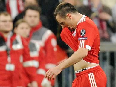Bayern vai recorrer do castigo a Ribéry