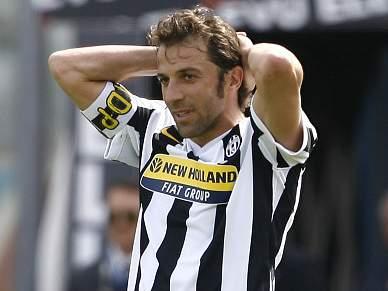 Juventus vence em San Siro e Del Piero faz história