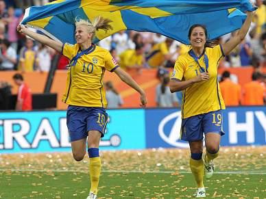 Suécia bate França e alcança