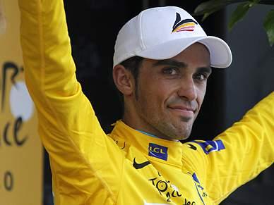 Dia de consagração em Paris para Contador