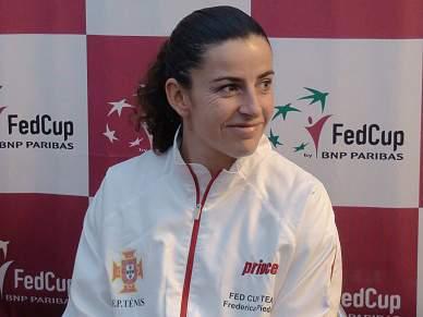 Frederica Piedade defronta russa de 14 anos na primeira ronda