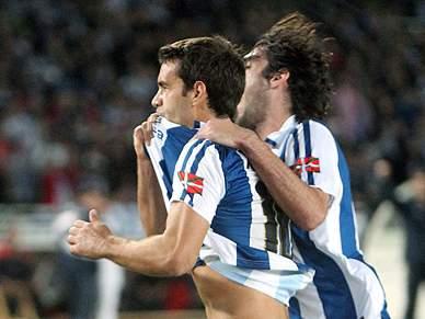 Real Sociedad vence dérbi basco com Athletic Bilbau