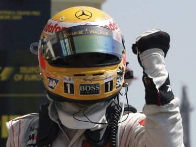 Hamilton volta a ser o mais rápido