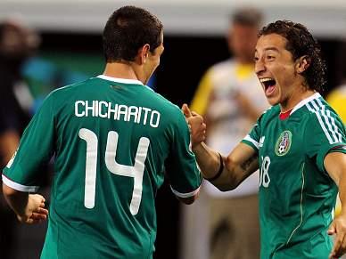 Jogadores mexicanos suspensos vão fazer análises