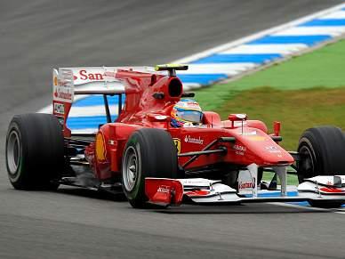Alonso domina a segunda sessão de treinos na Alemanha