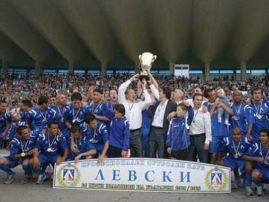 Levski Sófia coloca Bulgária na Liga Europa