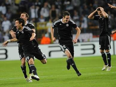 Partizan sofre primeira derrota