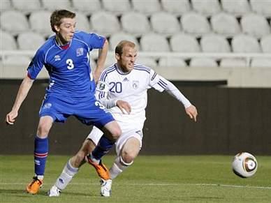Chipre empata a zero com Islândia