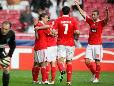 Benfica é o 10.º clube a atingir as 150 vitórias europeias