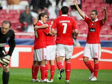Benfica já está em Lyon