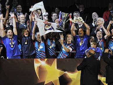 Lyon conquista a Liga dos Campeões feminina