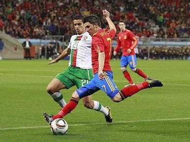 Vitória da Espanha frente a Portugal nas capas dos jornais belgas